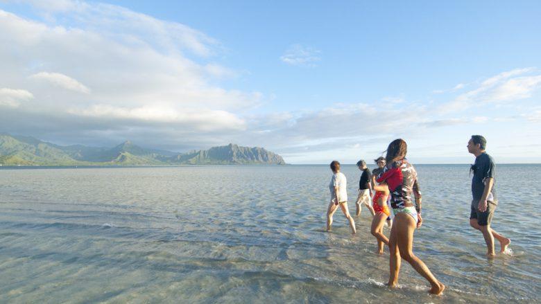 美しすぎる幻のビーチ。フォトジェニックな天国の海「サンドバー」