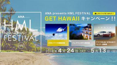 ハワイ行き航空券など豪華賞品!「GET HAWAII」~選んでハワイをつかもう!~キャンペーン4/24より受付開始