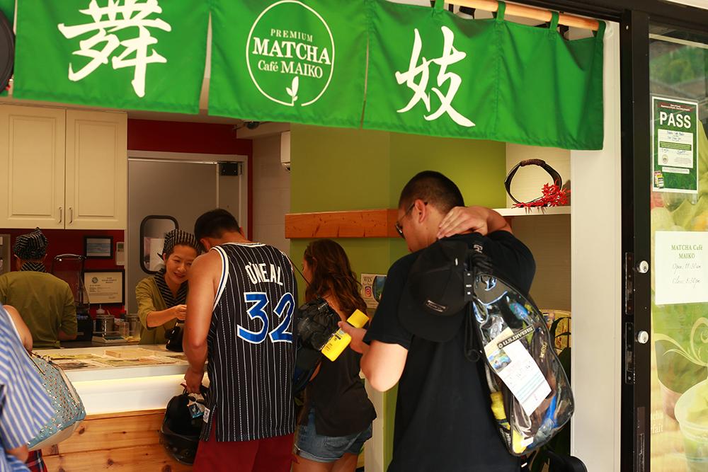 有楽町にハワイから抹茶スタンド舞妓が逆輸入オープン