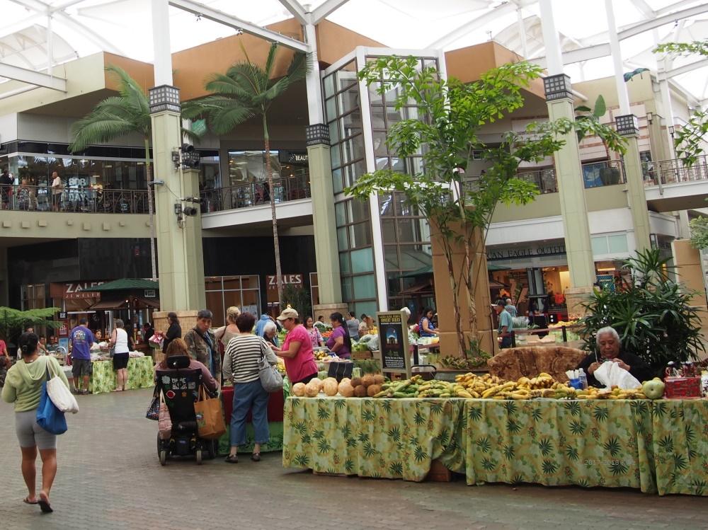 クイーンカアフマヌセンター・ファーマーズマーケット/Queen Kaahumanu Center Farmers Market