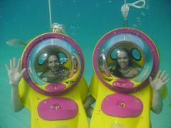 スクーターで海底散歩♪「スキューバボブ」を体験してきました!