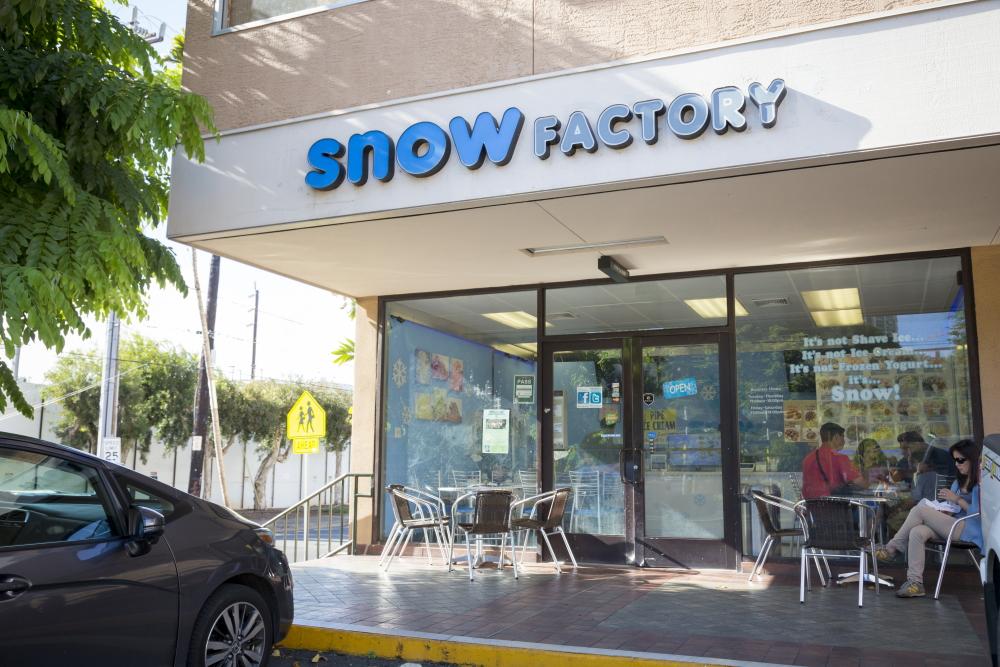 スノー・ファクトリー/Snow Factory