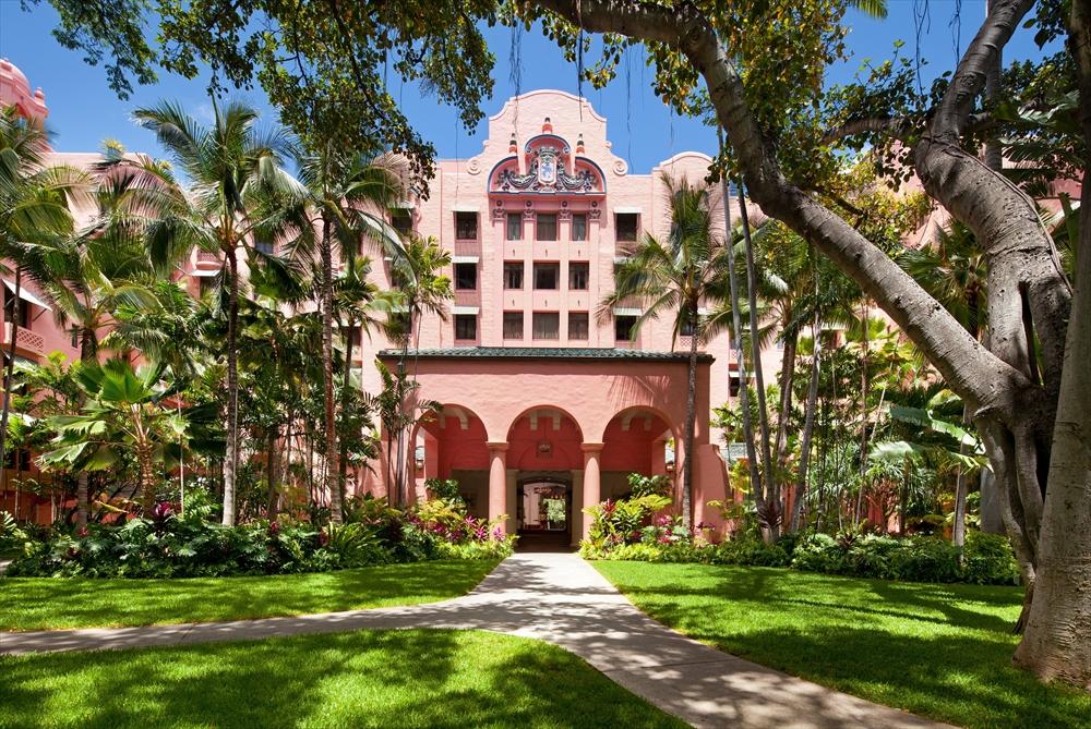 ロイヤルハワイアンホテル/The Royal Hawaiian Resort Waikiki