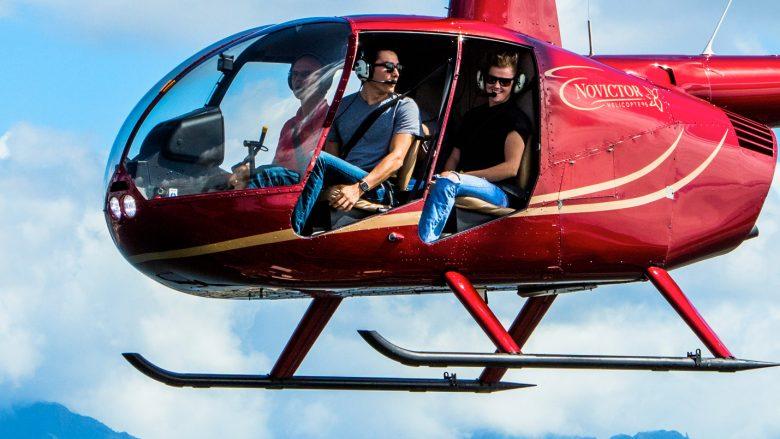 虹を見下ろせるかも!? ハワイでのヘリコプターツアー体験記