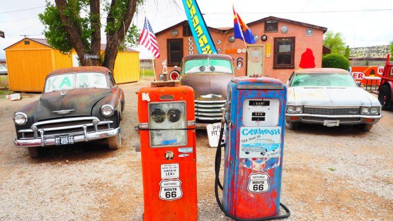 レンタカー利用で覚えておきたい!ガソリンスタンドの使い方