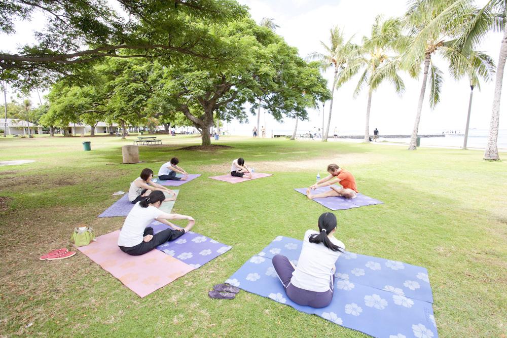 ワイキキビーチ・ヨガ(チョコレート パイナップル スポーツ ヨガ スタジオ)/Chocolate Pineapple Sport Yoga Studio