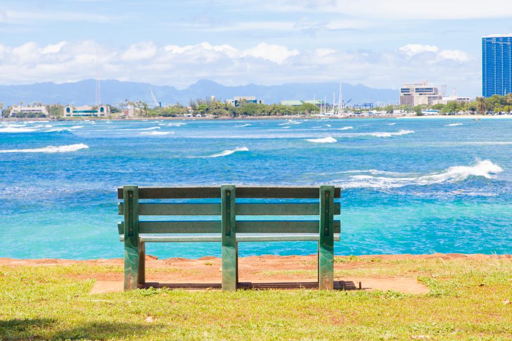 アラモアナビーチパーク~マジックアイランド/Ala Moana Beach Park ~ Magic Island