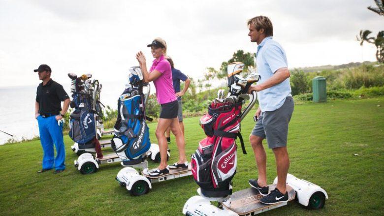 LaniLaniハワイ女子ゴルフ部発!「GolfBoard」に乗ってハワイ最新ゴルフスタイル
