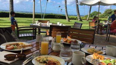 カハラホテルの朝食ビュッフェで贅沢気分を味わおう♪