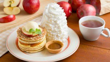 11月1日よりエッグスン・シングス/Eggs'n Thingsのサンクスギビング限定「アップルパイ・パンケーキ」が販売♪