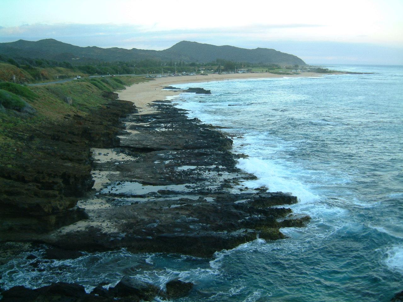 オアフ島東海岸