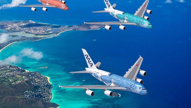 2019年春、ANAハワイ便「エアバスA380」就航予定!新時代飛行機がテイクオフ♪