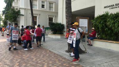 マリオット系ホテルのストライキが2ヵ月目突入!スト中のシェラトンに宿泊してきました
