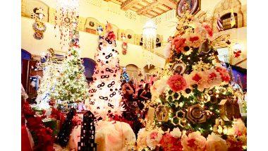 ホノルル市庁舎のクリスマスツリーが今年もライトアップ!