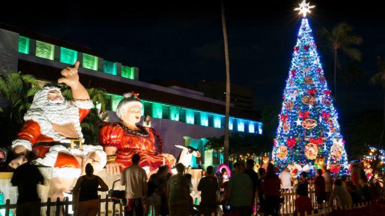 「ホノルル・シティ・ライツ/Honolulu City Of Lights」でハワイのクリスマスを満喫♪