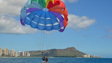 まるで鳥になった気分を味わえる!ハワイの海上でパラセーリングに挑戦してみよう♪