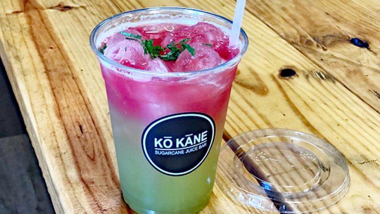 ヘルシー&フレッシュ! サトウキビジュースのバー「コ・カーネ/Ko Kane」が誕生