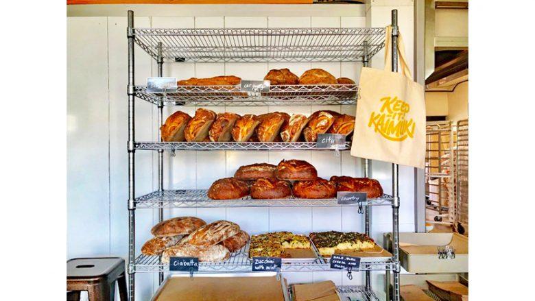 カイムキのクラフトベーカリーで美味しいパンをゲット♪ こだわりのパンは、その日に作ってその日に売り切る!
