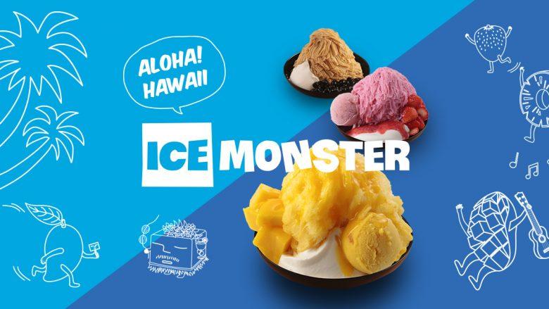 ハワイ初上陸!新感覚かき氷「ICE MONSTER/アイスモンスター」のポップアップショップがオープン