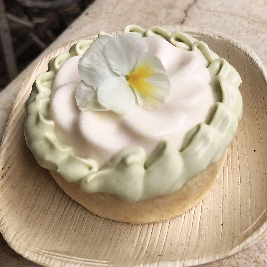 レモンムースのケーキ