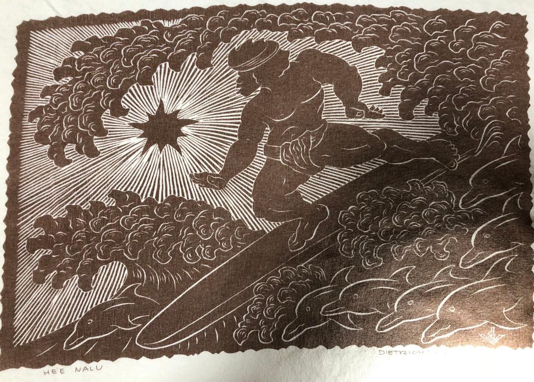Heʻe naluの版画