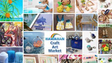 今年も開催♡ハワイアンクラフトアートマーケット2019