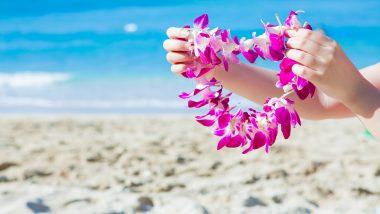 「令和」初日のハワイは「レイ・デー」!