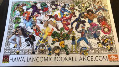 ハワイの人はスーパーヒーロー好き?アメイジングコミックコンで盛り上がる!