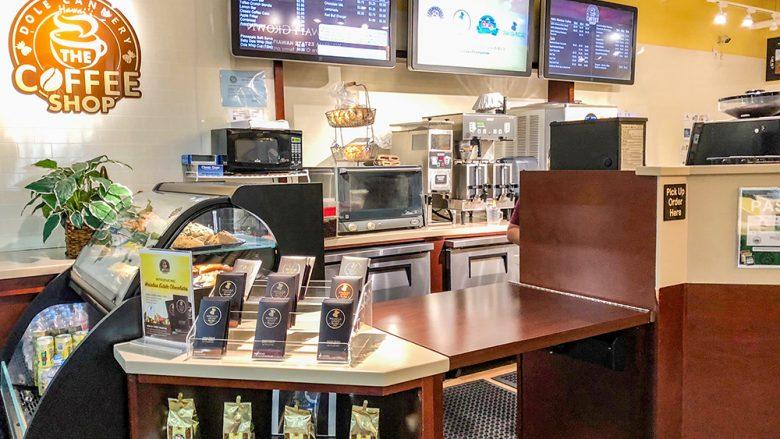 ドールに誕生したコーヒーショップという名前のコーヒーショップ