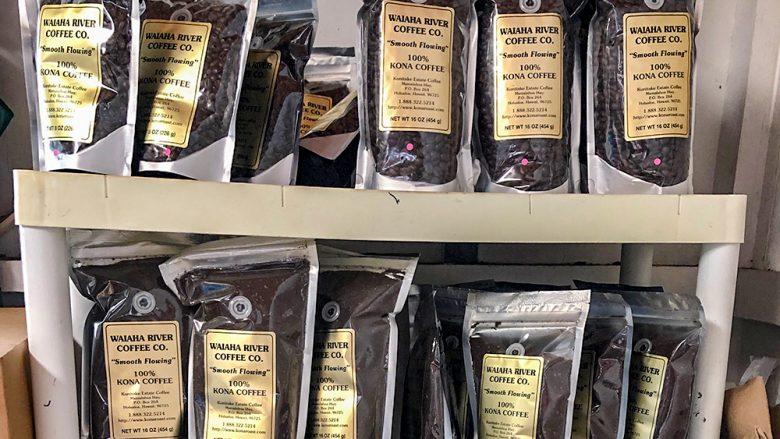 ハワイ島のベストコナコーヒー『ワイアハリバーコーヒー/Waiaha River Coffee』