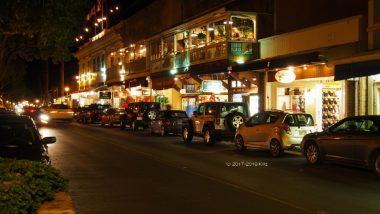 ハワイの古き都、ラハイナの魅力的なフロントストリート