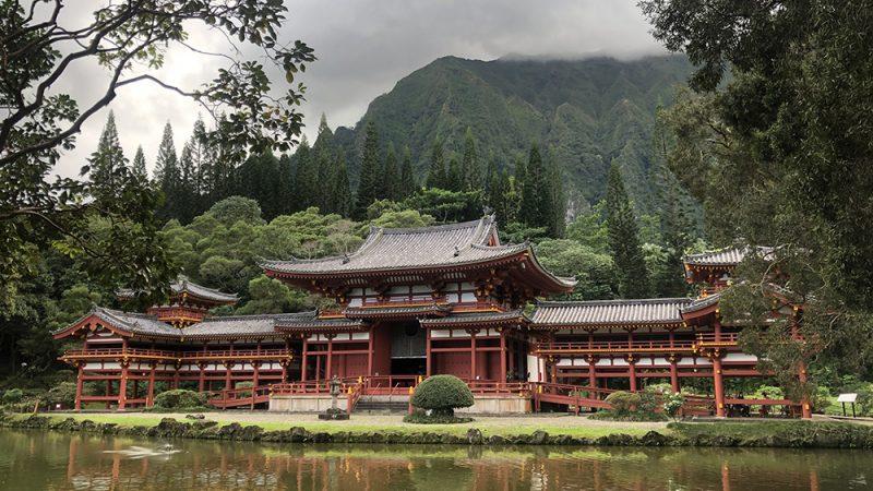 ハワイ、カネオヘの平等院で、日本へタイムスリップ?