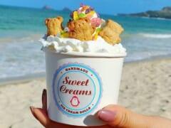かわいらしいローリングアイスがハワイで大人気!スイートクリームズ/Sweet Creams