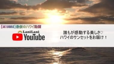 【4K HAWAII】ハワイの感動的なサンセットをおうちで楽しもう!