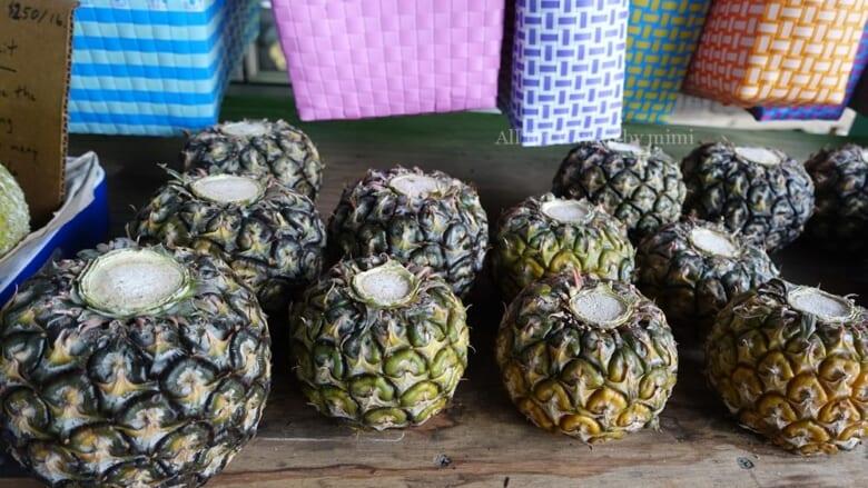 ハニークリームパイナップルで人気の農園で「特別美味しいもの」を味わってみた