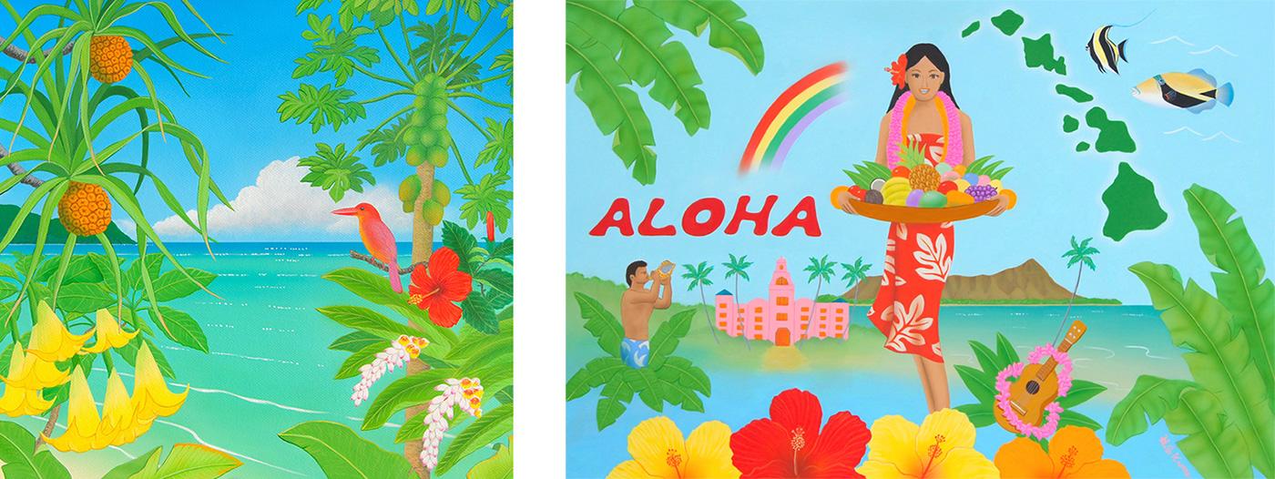 ハワイアンアート