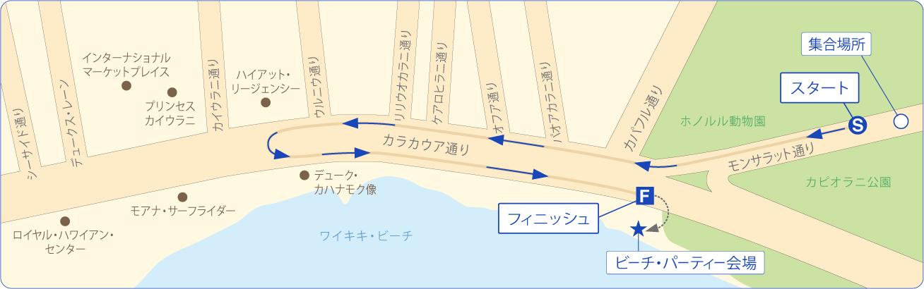 kalakaua-map