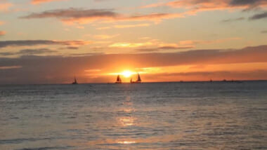 ハナウマ湾とフォート・デルッシービーチの絶景