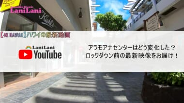 【4K HAWAII】ロックダウン発令前のアラモアナセンターの最新映像を大公開!