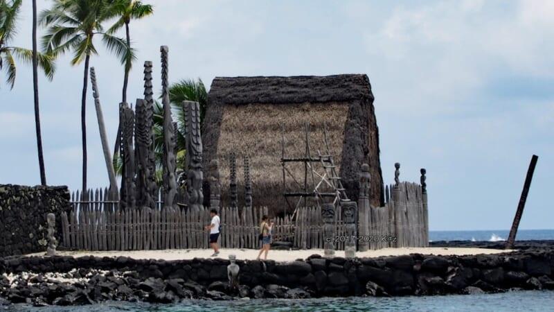 ハワイの歴史的重要スポット「プウホヌア・オ・ホナウナウ国立歴史公園」