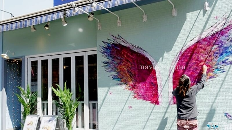 「Moke's/モケス」中目黒店に新メニュー登場!~天使の羽の製作秘話&レポ
