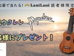 LaniLaniミュージック読者限定、人気ウクレレをプレゼント!