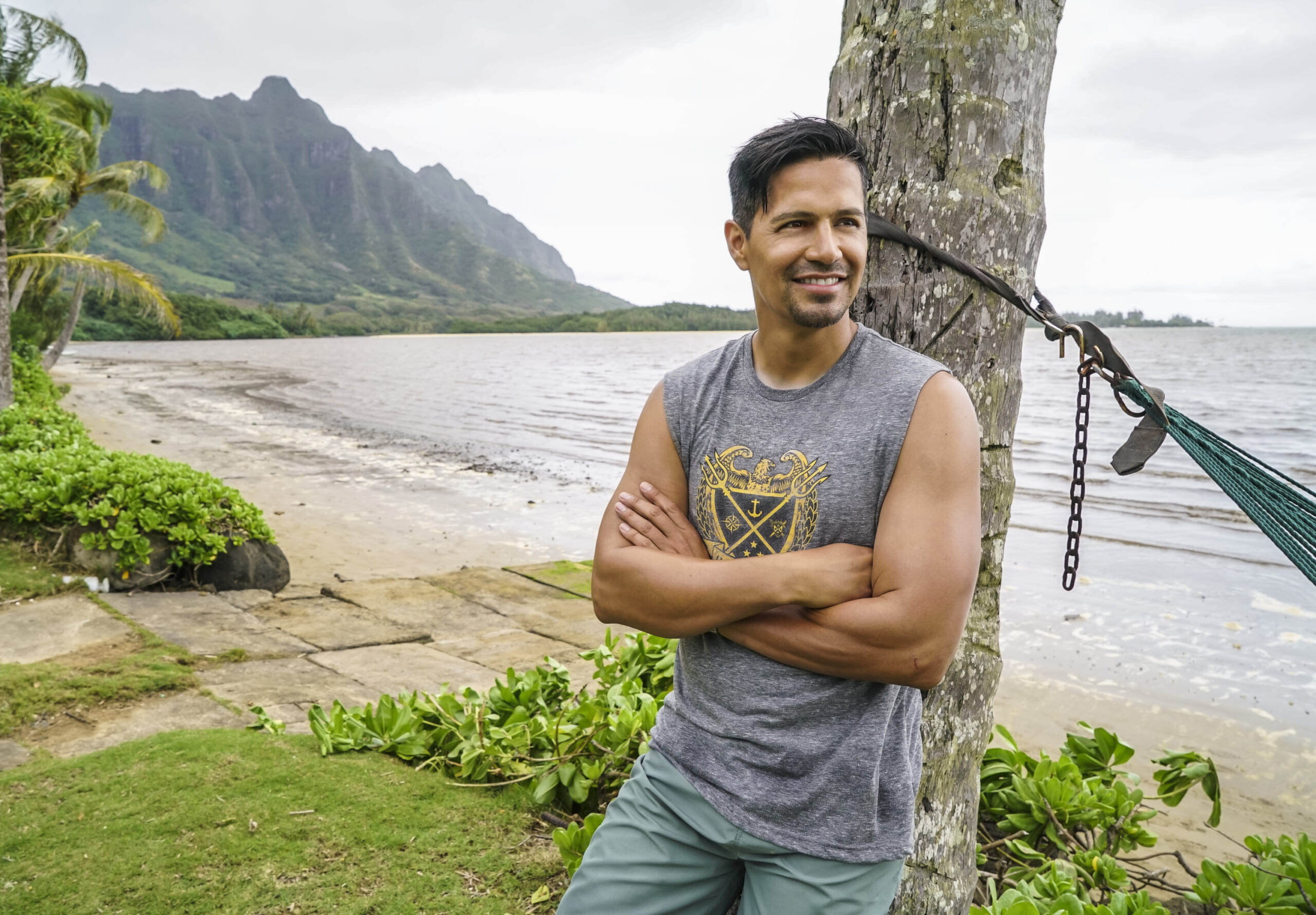 MAGNUM P.I. is a modern take on the classic series starring Jay Hernandez (pictured) as Thomas Magnum, a decorated former Navy SEAL who, upon returning home from Afghanistan, repurposes his military skills to become a private investigator in Hawaii. MAGNUM P.I. will premiere this fall on Mondays (9:00-10:00 PM, ET/PT) on the CBS Television Network. Photo: Karen Neal/CBS ©2018 CBS Broadcasting, Inc. All Rights Reserved.
