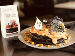 """ハロウィンのブランチはバサルトで! """"おうちでハロウィン""""も楽しくなる""""おどろかわいい""""パンケーキ"""