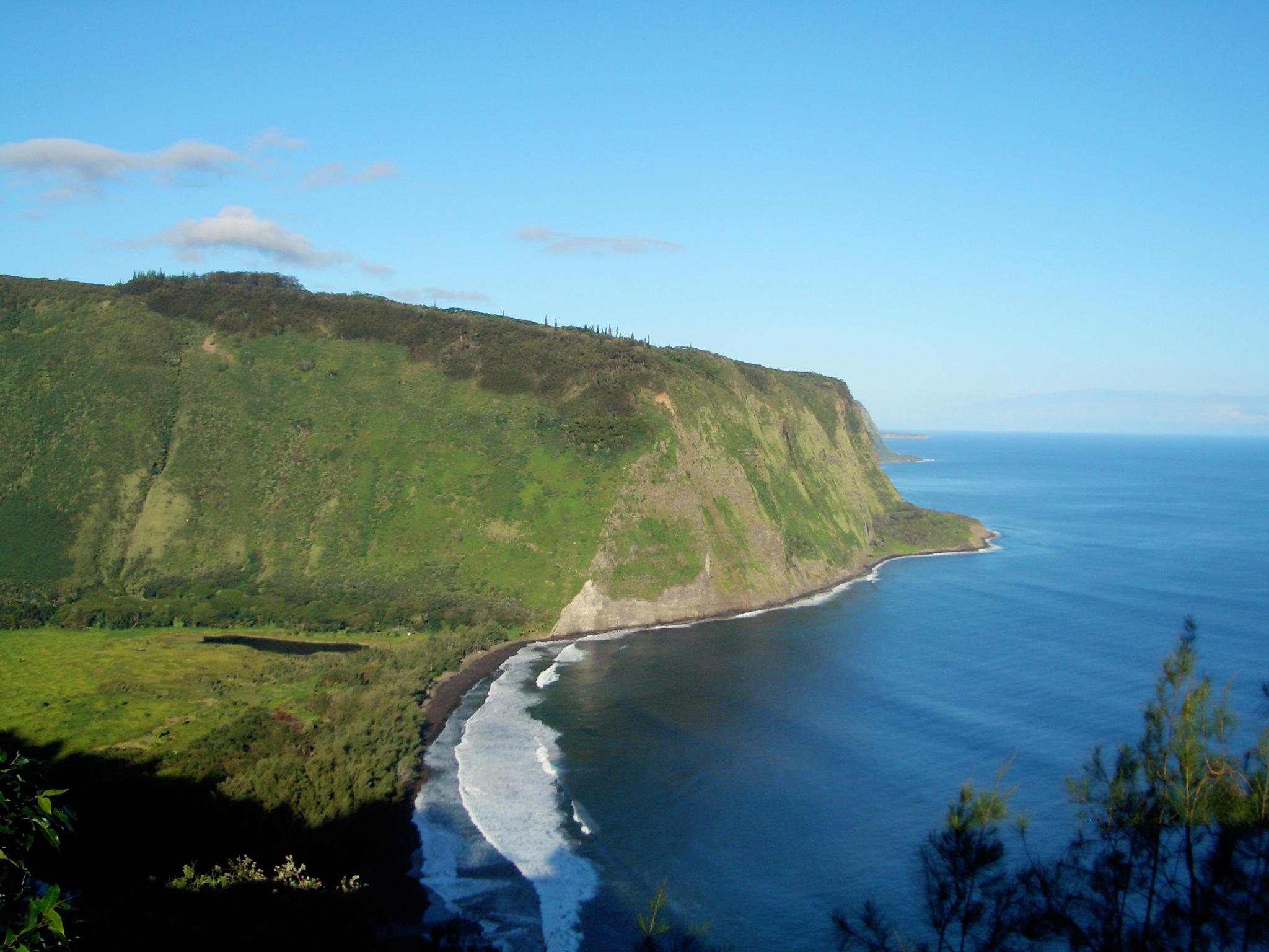 ワイピオ渓谷/Waipi'o Valley