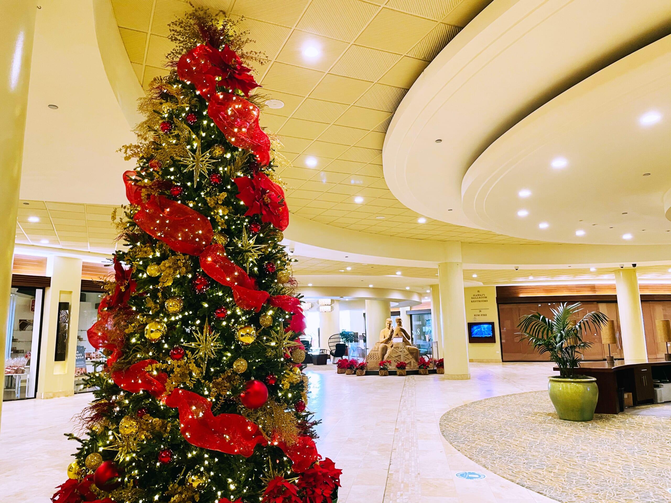 クリスマス_シェラトンワイキキホテル