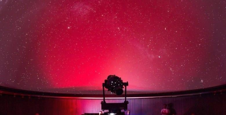 バーチャル 夜のプラネタリウムショー1月
