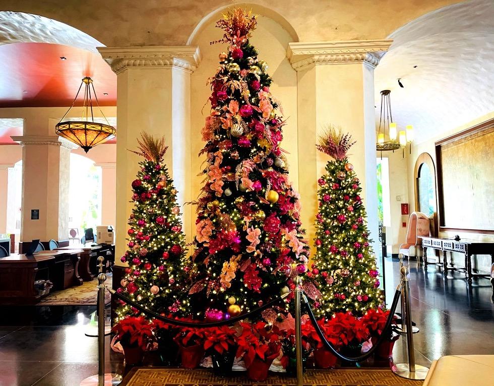 クリスマス_ロイヤルハワイアンホテル