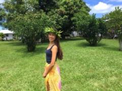 【ハワイ美女】フランダンスのために本場ハワイ島にやってきた「Ayaさん」