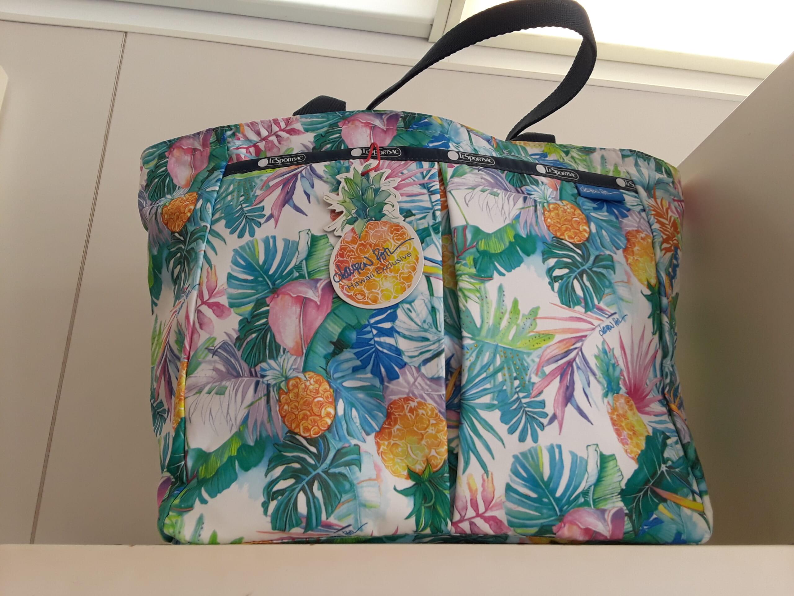 10ハワイのワイケレ・プレミアム・アウトレットの今とレスポートサックのハワイ限定商品!